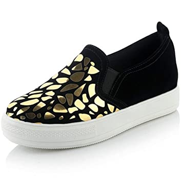 a3c6cf9a030f4 SHINIK Women's Shoes Sequined Shoes & Suede Large Size 40-44 Yard ...