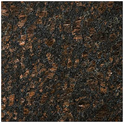 Emser Tile G14GR19TA1212 Granite 19 Tan Brown - Granite Tile, 12 x 12""