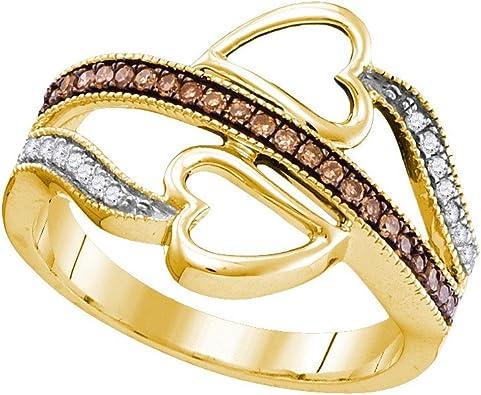 diamond fashion ring or wedding band 10k yellow gold