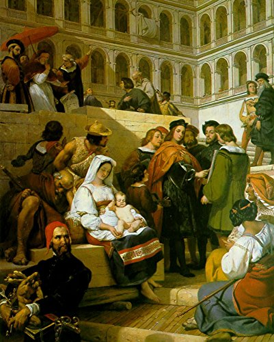 Raphael and Pope Leo X by Horace Vernet - 20