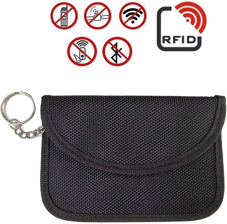 Faraday Bag For Car Keys ZOORE Versi/ón mejorada Se/ñal de llave de autom/óvil y se/ñal de interceptor de tarjeta de cr/édito utilizado en interceptores RFID // NFC // FOB Evitar el robo de autom/óvil