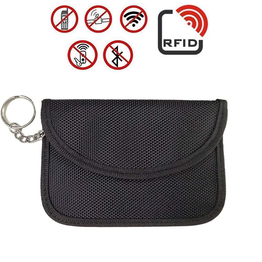 Bolsa Grande de Faraday para llaveros YANSHON Bolsas de Faraday Grandes 2pcs Bolsa de Bloqueo de se/ñal para Llaves de Coche tel/éfonos con Regalos! tel/éfono Celular RFID y Bolsa para Llaves