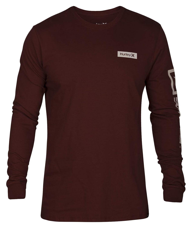 Hurley Mens Core Arm Long Sleeve Tee AJ1720