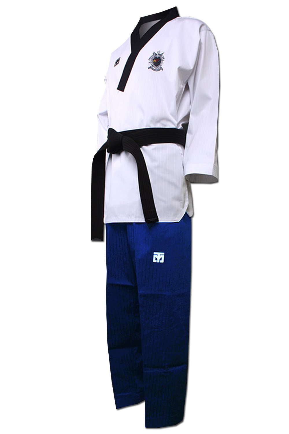 (New Product) Mooto WTF Poomsae Uniform Korea Taekwondo female Dan Dobok (160(US2)(4.92~5.24ft or 150-160cm)) by Mooto