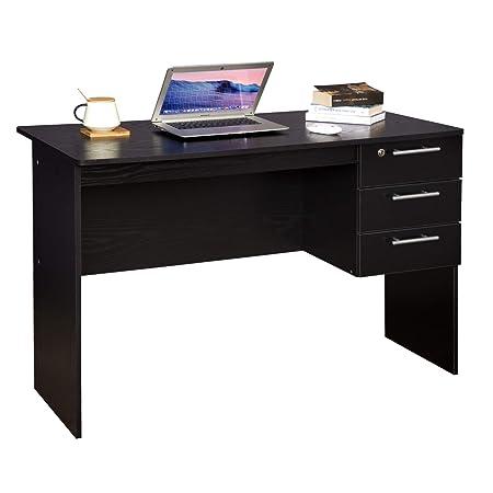 WOLTU Mesa de Ordenador Mesa de Oficina Mesa de PC Escritorio con ...