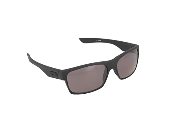 Oakley Mens Two Face Covert Sunglasses One Size Matte Black Prizm Daily  Polarized 1be0625e4d