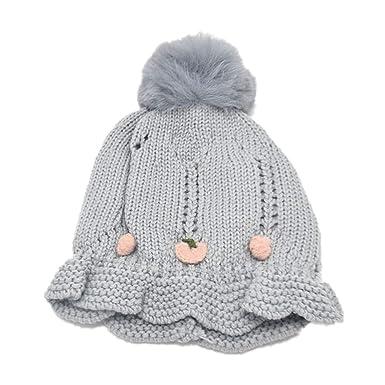 Dotbuy Warme Baby Mütze Winter Slouch Strickmütze Kleinkind Unisex