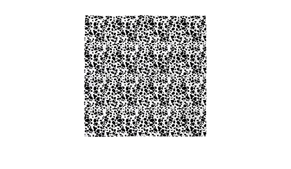 Set of 4 - Dalmatian Spots by eclectic/_house Animal Print Cocktail Napkins Dalmatian Dots  Black And White Cloth Napkins by Spoonflower