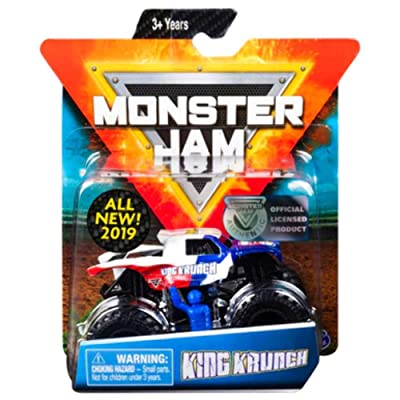 Monster Jam King Krunch with Figure & Poster: Toys & Games