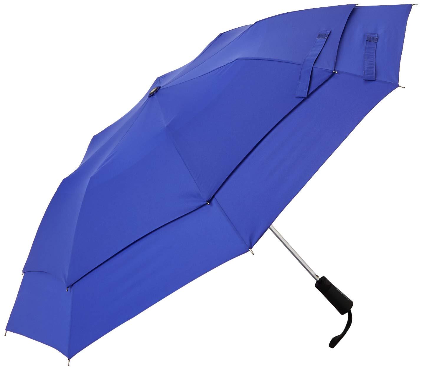Samsonite Windguard Auto Open Umbrella, Aqua Blue, One Size