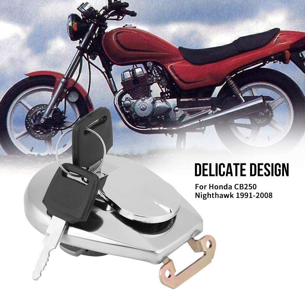 Tankdeckel mit Schl/üssel-Motorrad Tankdeckel mit 2 Schl/üsseln Kompatibel mit Honda VF750C VF750 VF 750 700 17620-MB1-033