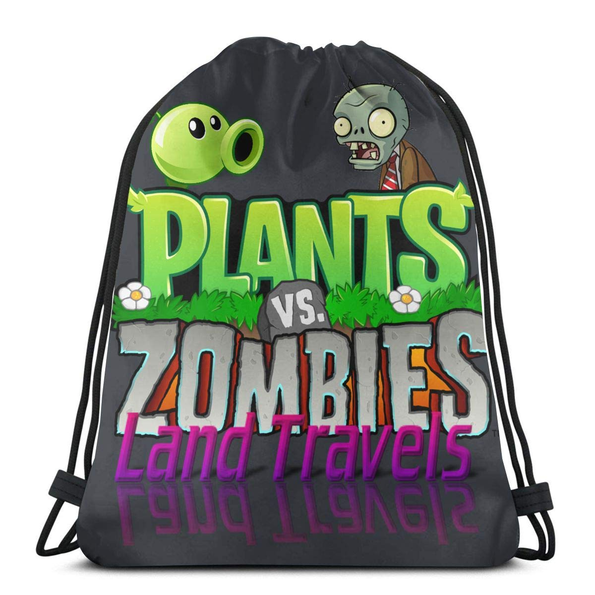 FV BE BRAVE YOURSELF Plants Vs. Zombies Land Tarlve Logo ...