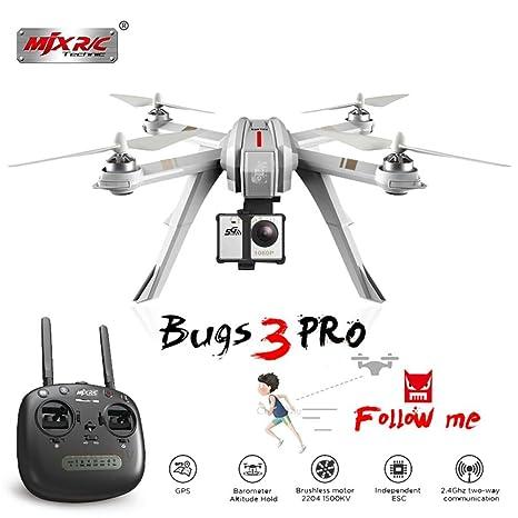 CatcherMy RC Drone, MJX Bugs 3 Pro B3PRO Droni Control Quadcopter ...