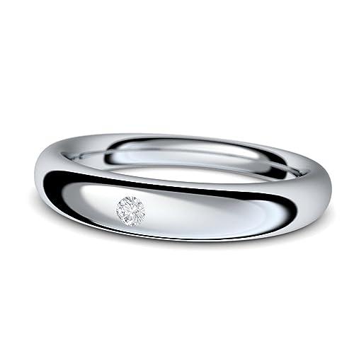 Compromiso anillos con cristales de Swarovski * + estuche piedra! Anillo de compromiso matrimonio