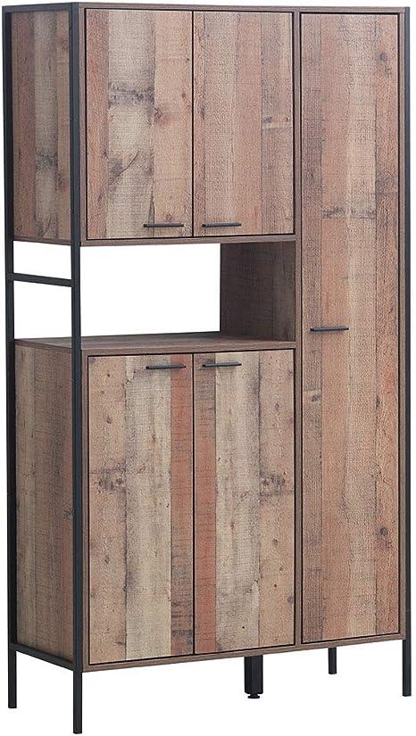 Design Vicenza Somma Armario de cocina con 5 puertas: Amazon.es: Hogar