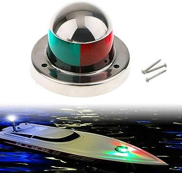 Boat//Yacht//Marine 24V 9-LED WHITE MASTHEAD LIGHT Side Mount Navigation Light