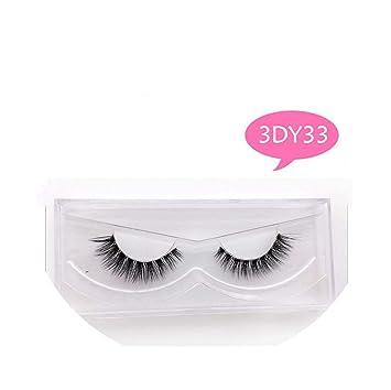 1460e5d2be0 Amazon.com : Mink Lashes 3D Mink Eyelashes Invisible Band Natural Black Mink  False Eyelash Full Strip cilios Reusable, Mix : Beauty