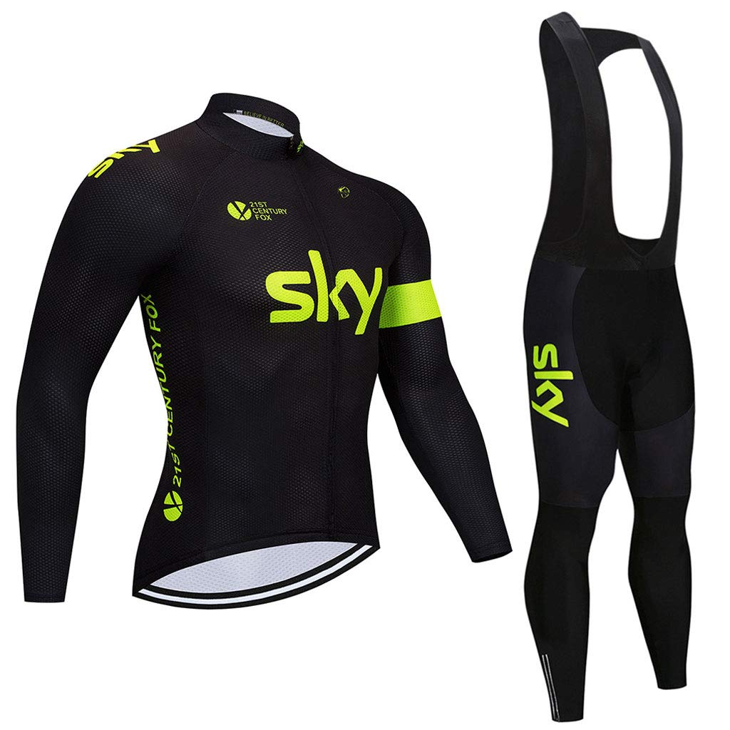 Lilongjiao Radfahren Anzug Langarm Anzug Unisex Fahrradkleidung Radfahren Anzug Mountainbike Kleidung Sportbekleidung