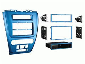Metra 99-5821BL Single or Double DIN Installation Dash Kit for 2010 Ford Fusion and Mercury Milan, Blue