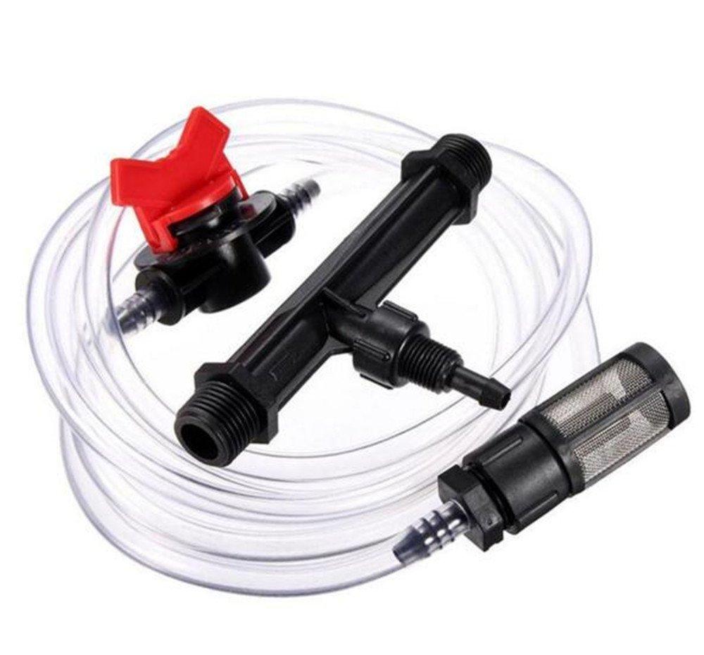 Irrigation Venturi Fertilizer Injectors Water Tube Switch Filter Kit Best