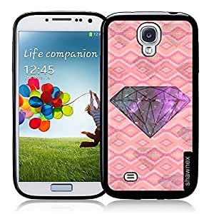 Cool Painting Geometric Galaxy Diamond Thinshell Case Protective S4 Case