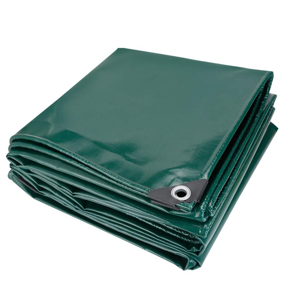 YNN - ターポリン - 余分な厚いターポリン耐寒性布キャンバスリノリウム3つの抗布の屋外日陰保温暖かい耐火性、650g Green,/m²0.5mm B07KDW6Q1B (色 : Green, サイズ さいず : 4*4m) 4*4m Green B07KDW6Q1B, 大きいサイズ専門店JUNGLE JALOPY:fb429112 --- sharoshka.org