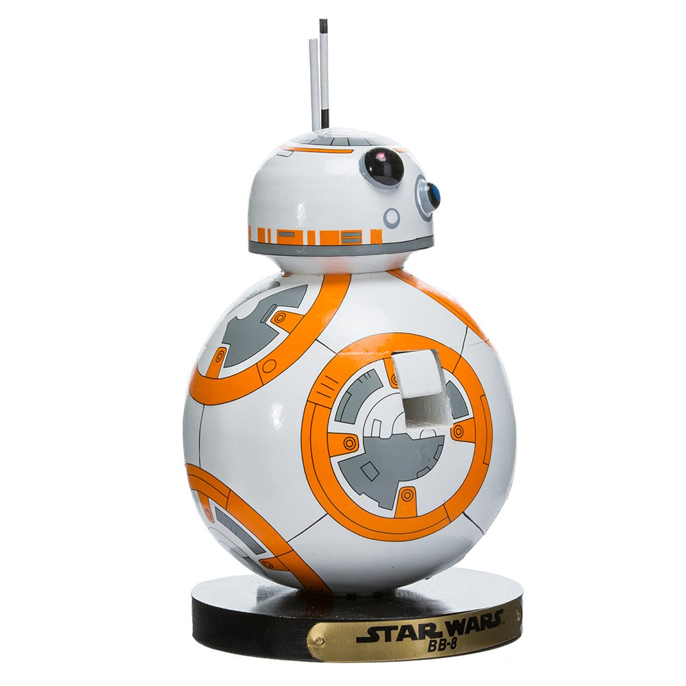 Kurt Adler SW6173L 8'' Star Wars BB-8 Nutcracker