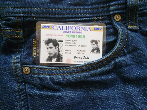 Grease Danny Zuko fancy dress costume novelty ID -