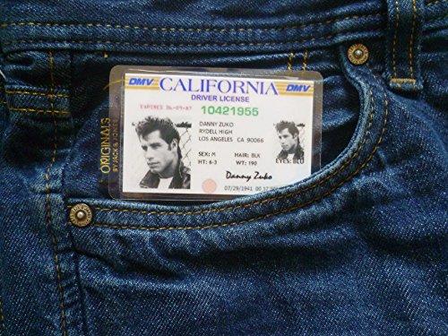 Grease Danny Zuko fancy dress costume novelty ID
