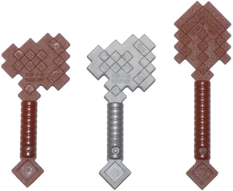 LEGO Minecraft Axe and Shovel Pack - Wood and Iron