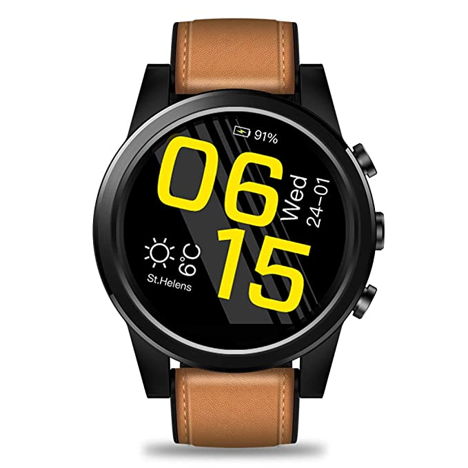 OOLIFENG Reloj GPS Multideporte, Soporte SIM, Pulsometro de Muñeca ...