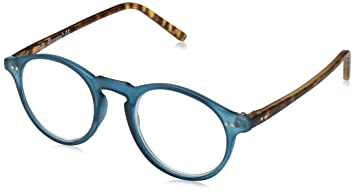 2c26fe646a A.J. Morgan Unisex-Adult Rowhouse - Power 1.00 54233 Round Reading Glasses