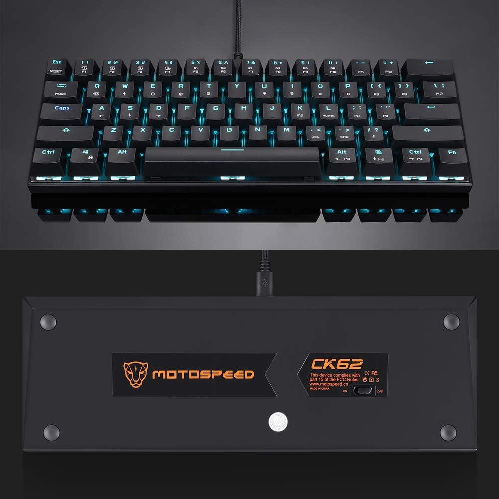 Docooler Motospeed Ck62 Mechanische Tastatur Wired Computer Zubehör