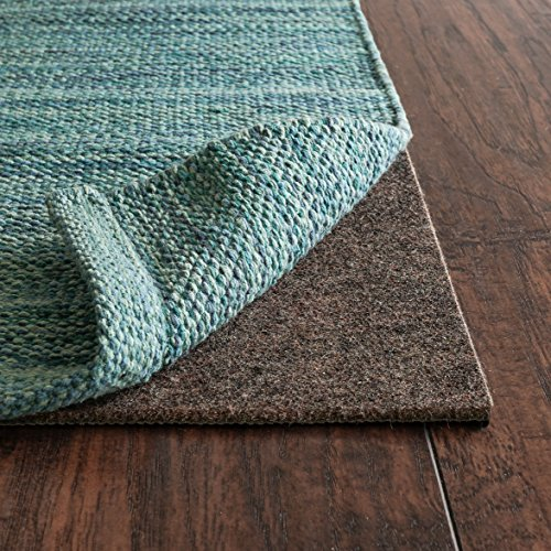 Contour Square Rug (RUGPADUSA CL-66 Square Contour Lock, Low Profile Gripping Non-Skid Rug Mat, 6 x 6')
