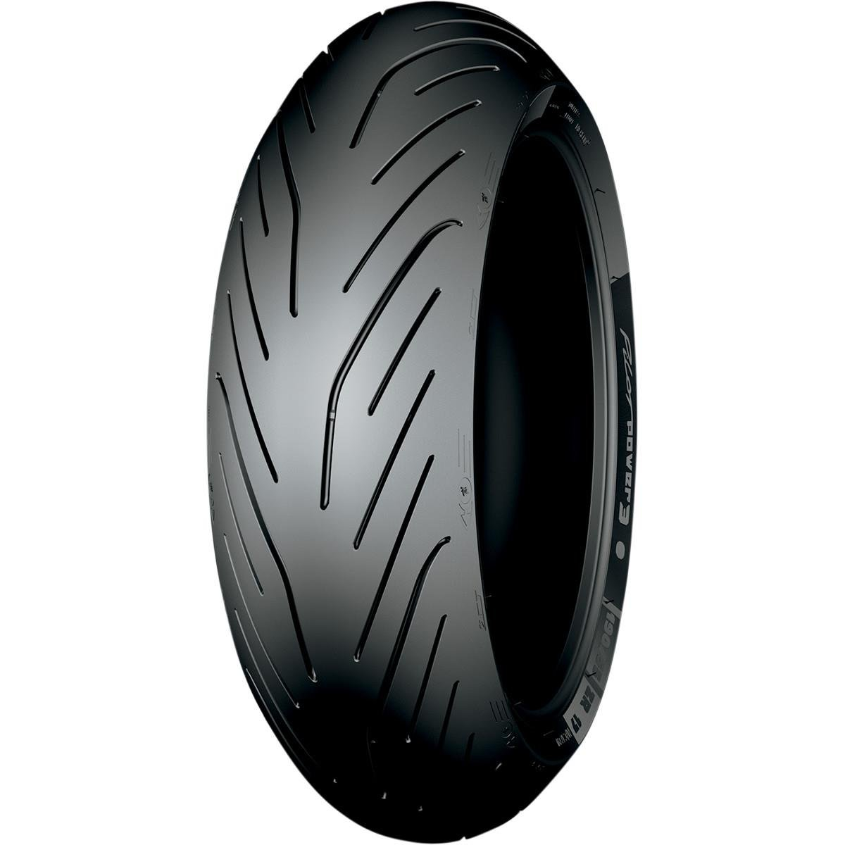 Michelin Pilot Power 3 HP/Track Rear Motorcycle Radial Tire - 190/55R17 75W 4333046853