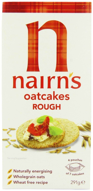 Nairns – Oatcakes – Rough – 291 g (Caso de 10): Amazon.com ...