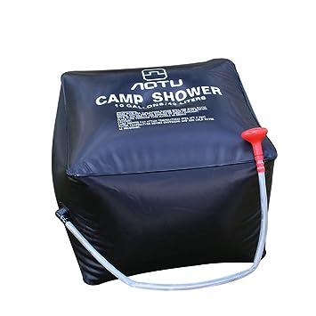 Chrasy Ducha Solar portátil Acampada (40 litros) Camping Shower para Deportes al Aire Libre