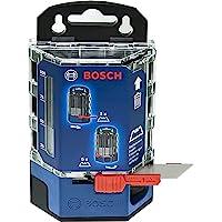 Bosch Professional 50 reservblad i dispenser (knivblad, passar till Bosch Professional kniv för standardknivblad)