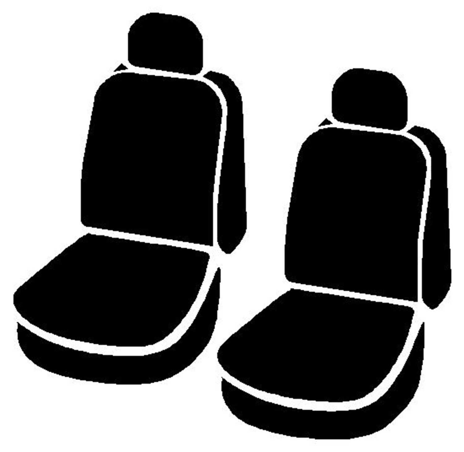 Charcoal Fia OE38-33 CHARC Custom Fit Front Seat Cover Bucket Seats Tweed,