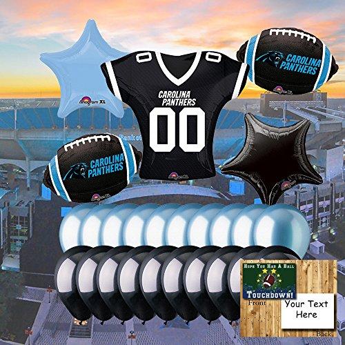 Carolina Panthers Balloon Set