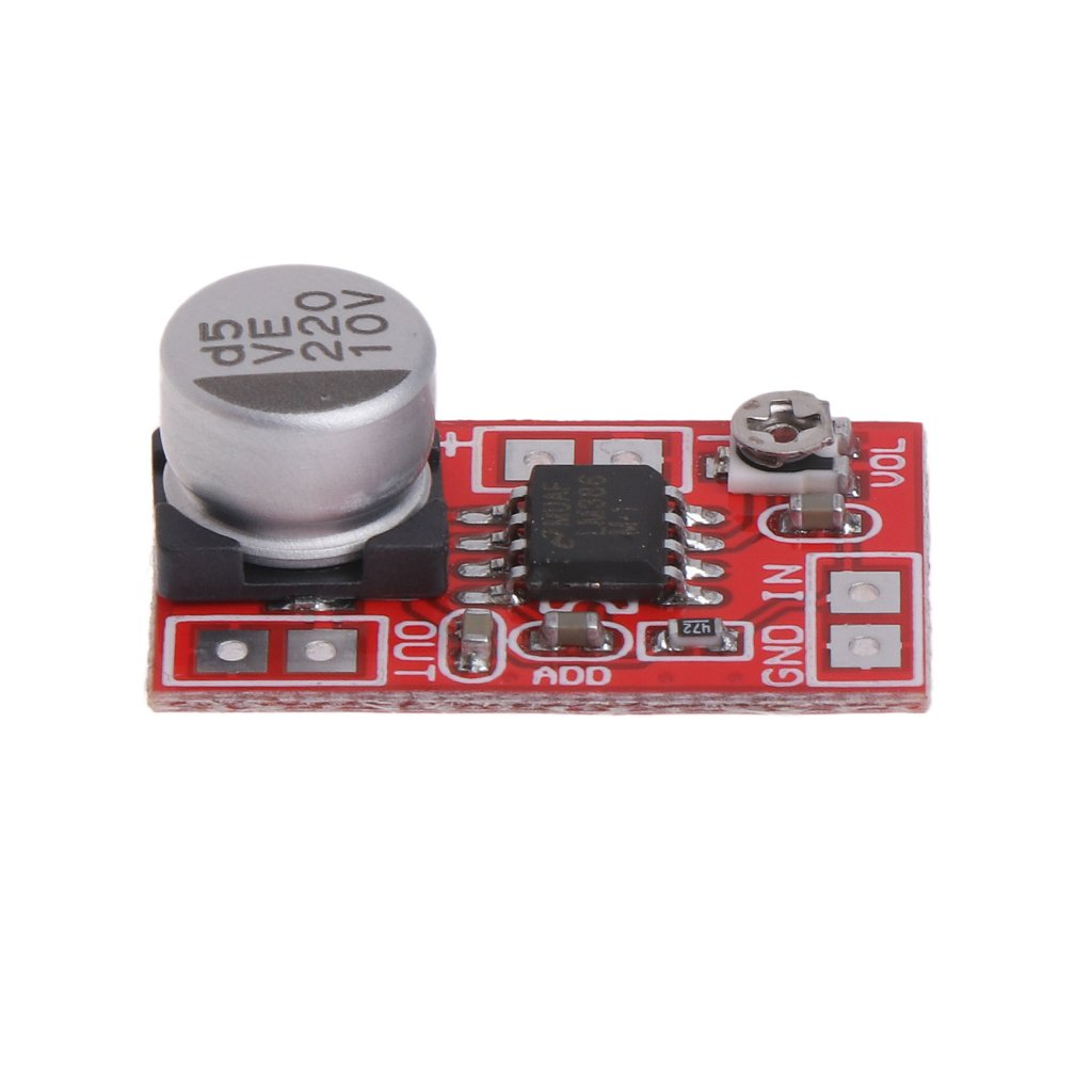 Ringbuu Dc 5v 12v Micro Electret Amplifier Mic Condenser Mini Microphone Board Home Improvement