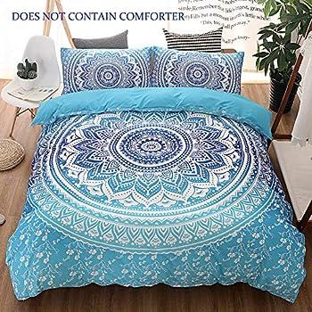 Amazon Com Blessliving Colorful Marble Bedding Pastel