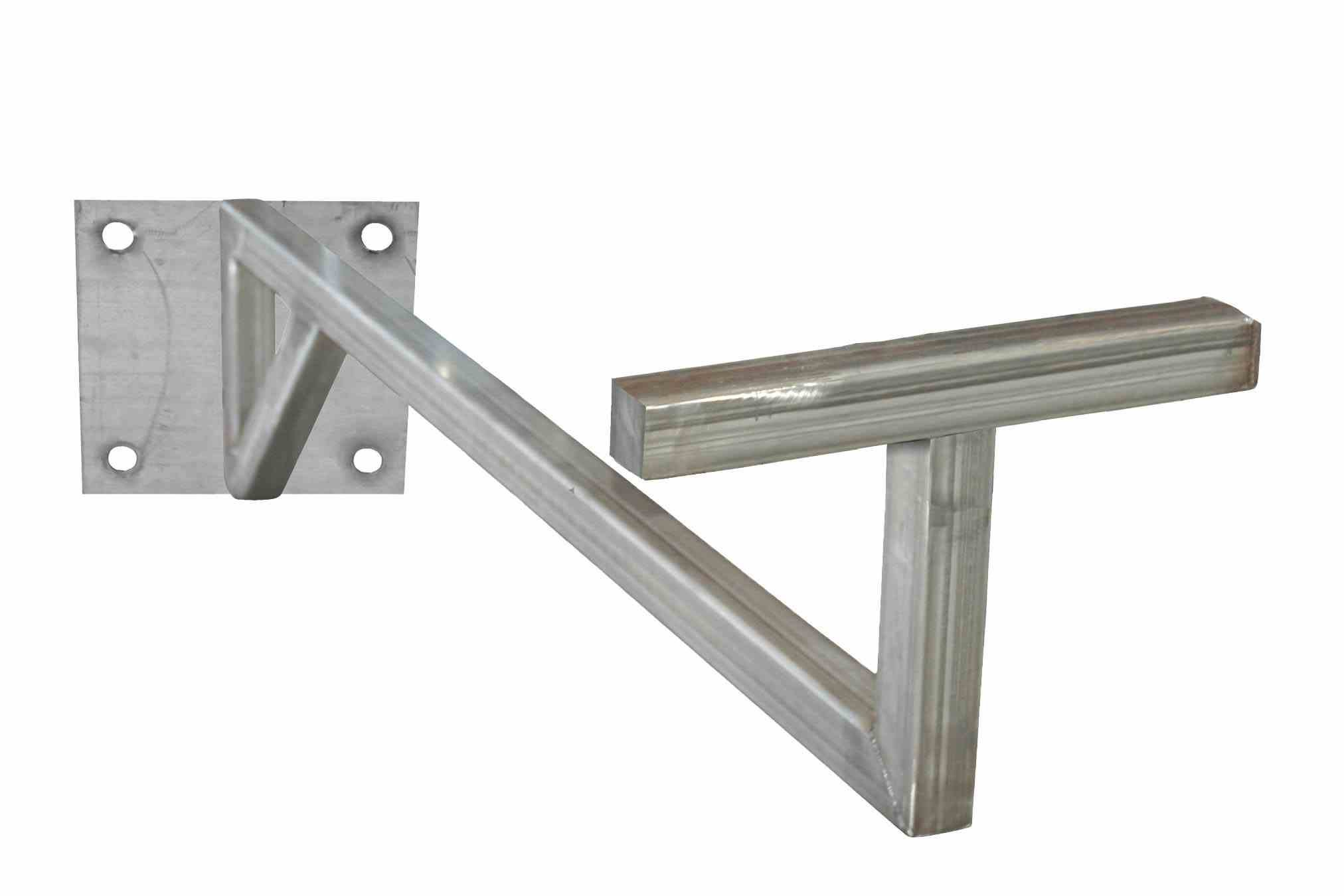 8 Foot Carbon Steel Swing Arm - Mount Lights, Cables, or Equipment - 96'' Extension - Pivots