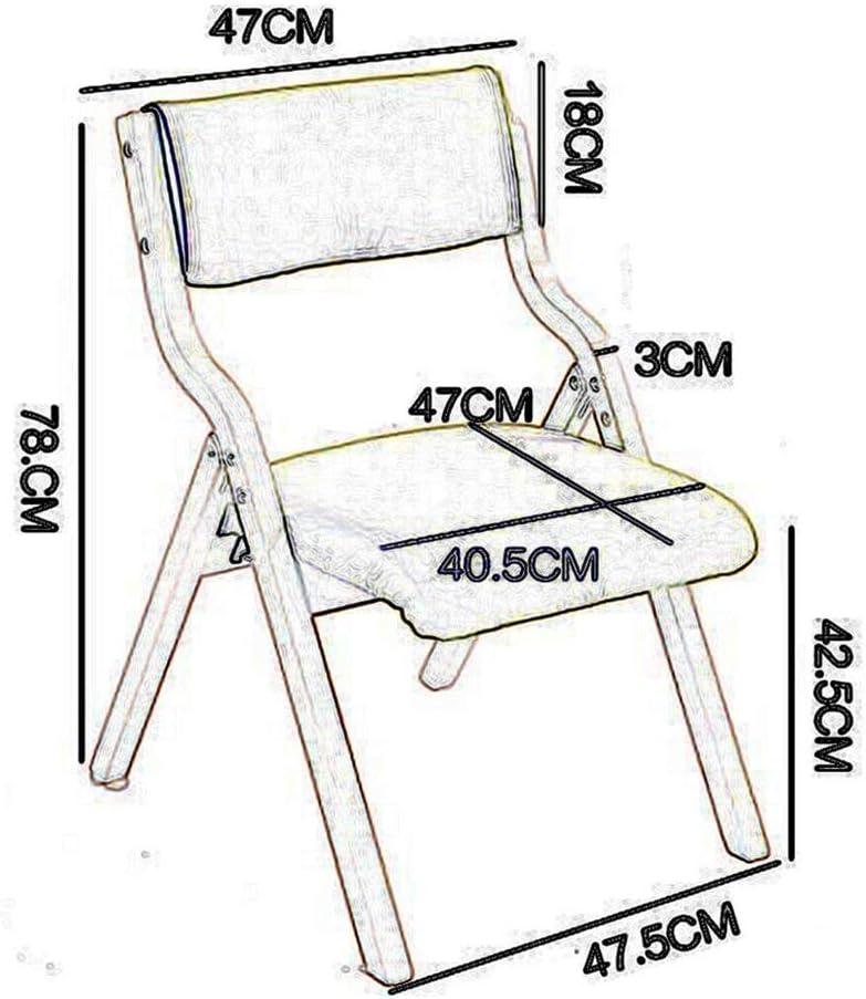 LYF Chaise Pliante en Bois, Chaise de Salle à Manger, Chaise de Bureau, Table Multifonction et Chaise T3