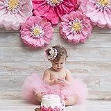 Birthday Crown Tiara Headband Baby Girls Hair Bands Flower Princess Accessories
