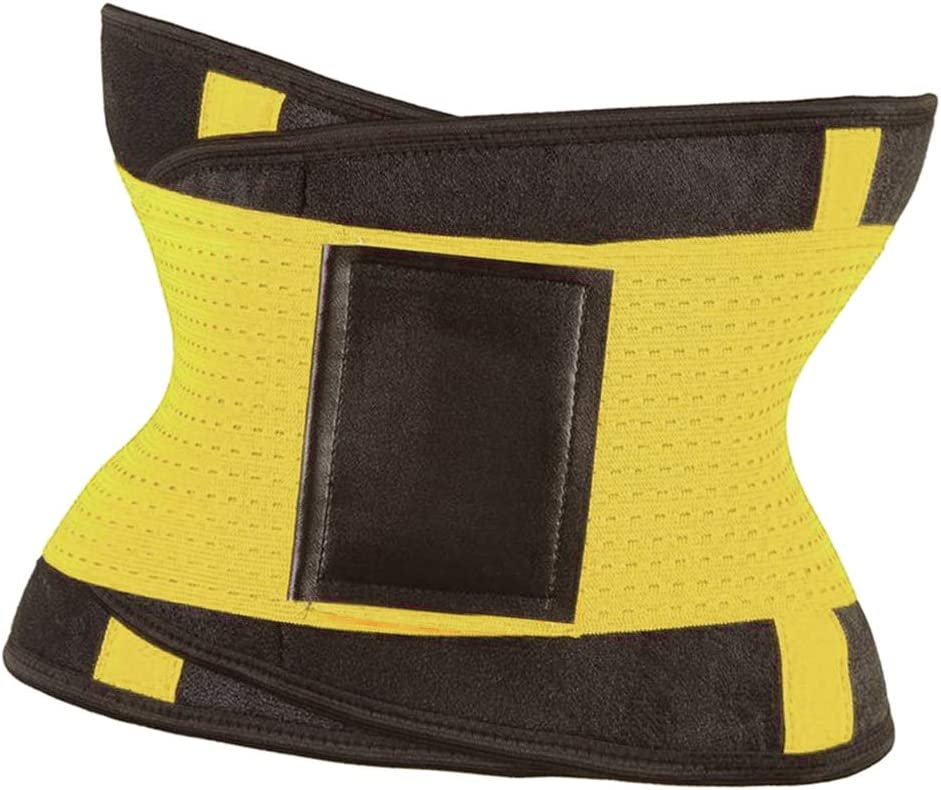 Breathable Sweat Belt Waist Trimmer Body Shaper Girdle Fat Waist Trainer for Gym Home Workout Bonarty Waist Trainer Belt for Women