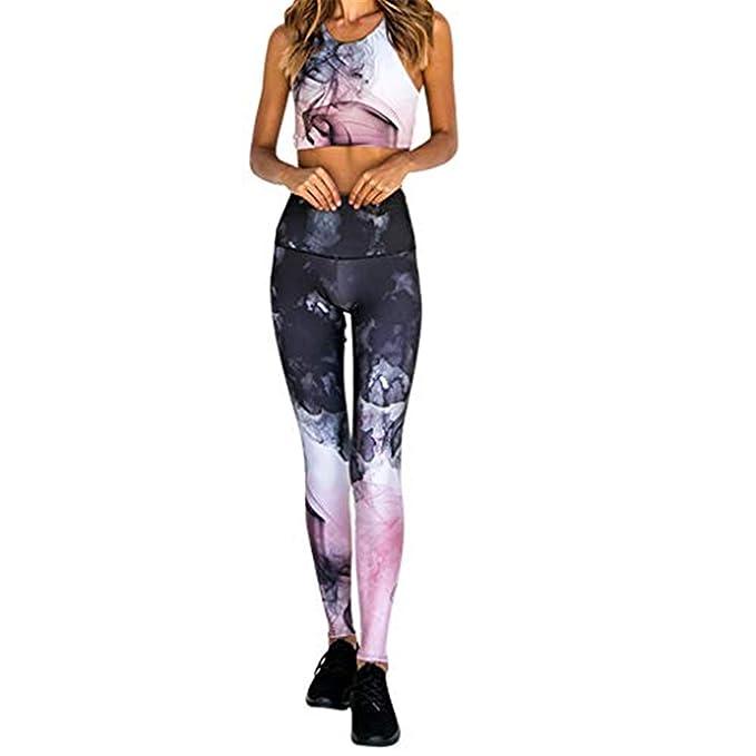 MOVERV-Pantalones Yoga de Verano para Mujeres, Sexy Cintura ...