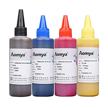 Aomya Sublimation Ink Refill Kit for Inkjet Printers