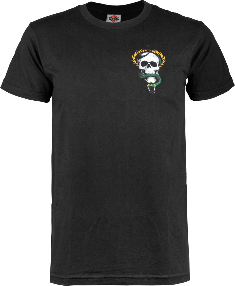 Powell-Peralta McGill Skull and Snake T-Shirt, Black, Large by Powell-Peralta (Image #2)