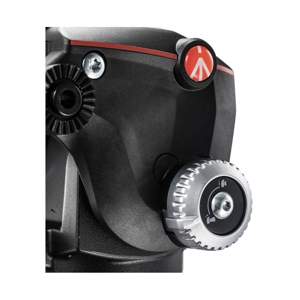Manfrotto MHXPRO-2/W Xpro Fluid Head con selector de fluidez Negro